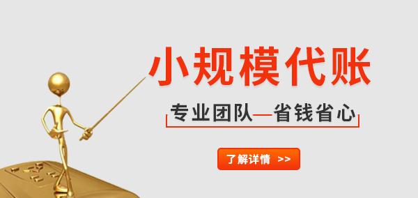 乐享财税小规模纳税人代理记账,纳税申报,企业年报!